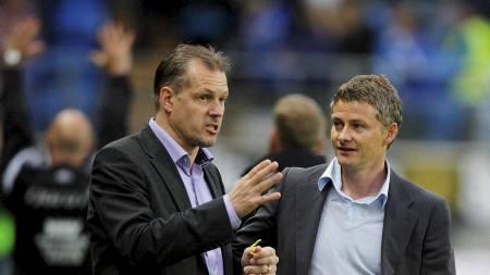 Kjetil Rekdal og Ole Gunnar Solskjær (Foto: Ekornesvåg, Svein Ove/NTB scanpix)