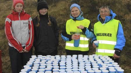 Nibbedobbelen   og Nibbeløpet i Geiranger er kanskje Norges hardeste motbakkeløp. Her   fra 2011. (Foto: Knut Arild Maråk/)