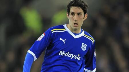 SKIFTER FARGE? Cardiff-spillerne må kanskje skifte farge på drakten. (Foto: Mike Egerton/Pa Photos)