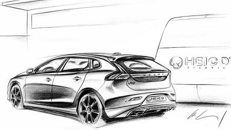 Volvo-V40-Heico-bakfra (Foto: Skisse: Heico Sportive)