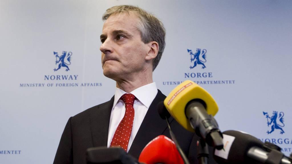 FORKLARER SEG MANDAG: Utenriksminister Jonas Gahr Støre (Ap).  (Foto: Roald, Berit/NTB scanpix)