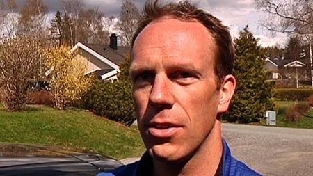 SÅ MOREN BLI PÅKJØRT: Moren til Stian Fjeldstad Nielsen skulle hente sønnen og kjøre ham til Gardermoen. (Foto: Harald Bjørnson Jacobsen/TV 2)