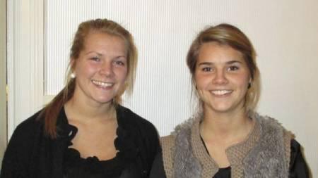 Ada og Andrine Hegerberg (Foto: Stabæk Fotball/)