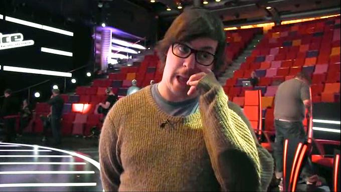 Martin Halla i The Voice (Foto: TV 2)