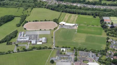08 Jun 2011, Wolverhampton, West Midlands, England, UK --- Aerial photographs showing the Compton training Ground of Wolverhampton Wanderers Football Club (Foto: Sam Bagnall/AMA/© Sam Bagnall/AMA/Corbis)