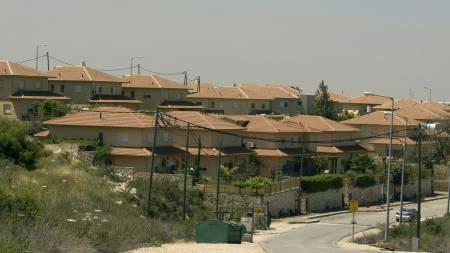 OMSTRIDT: Den jødiske bosetningen Bruchin nær den palestinske byen Nabulus på Vestbredden. (Foto: JACK GUEZ/Afp)