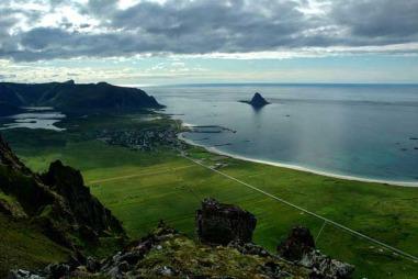 Bleik er et lite øysamfunn på Andøya med storslått natur. (Foto:   Ola Albert Bjerrang)