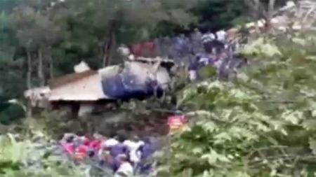 Nepal flystyrt (Foto: TV9)