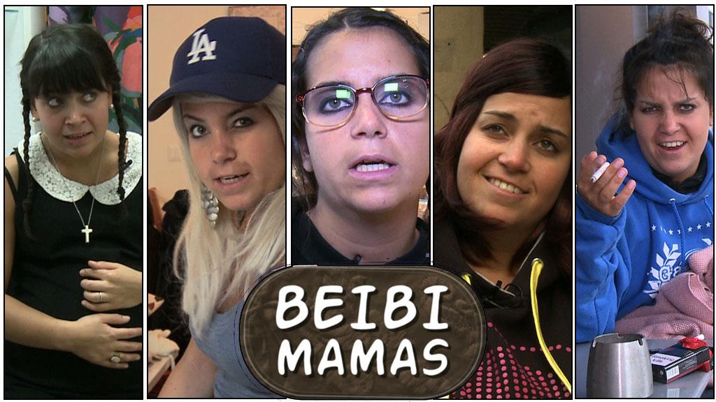 PARODI: Cecilie Steinmann Neess fra humorprogrammet «Kollektivet» spiller alle karakterene i «Unge mødre»-parodien «Beibi mamas».