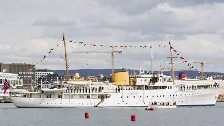 EN AV TO: Kongeskipet «Norge» er et av to kongeskip i verden. (Foto: Vegard Grøtt/NTB scanpix)
