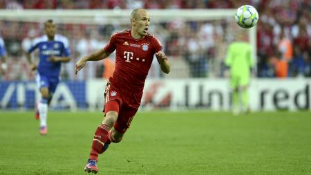 Arjen Robben (Foto: PATRIK STOLLARZ/Afp)