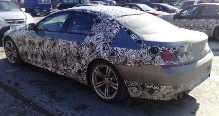 BMW 6-serie Grand Coupe M6.