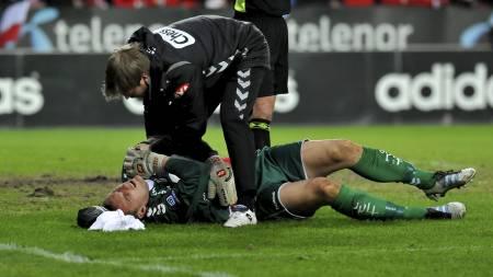 Piotr Leciejewski er skadet for andre gang denne sesongen. (Foto: Alley, Ned/NTB scanpix)