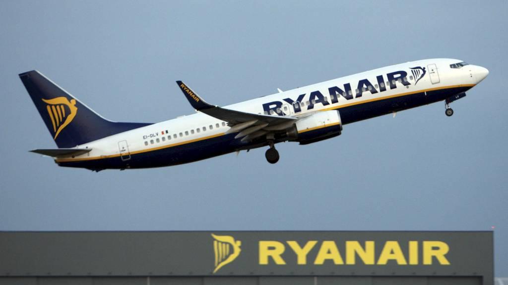 REKORD: Lavprisflyselskapet Ryanair leverer et rekordoverskudd. (Foto: Chris Radburn/Pa Photos)