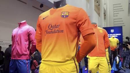 RESERVEDRAKTER: Slik er Barcelonas nye reservedrakter. (Foto: DC Barcelona.com/)