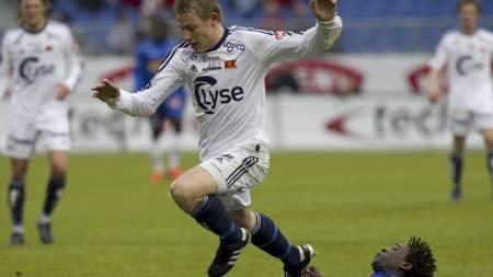 Patrik Ingelsten var tilbake for VIking etter langvarig skadepause mot Stabæk i forrige kamp (Foto: Holm, Morten/NTB scanpix)