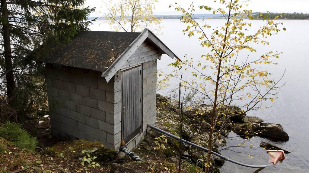 Pumpehuset på Utøya. (Foto: Aas, Erlend/NTB scanpix)