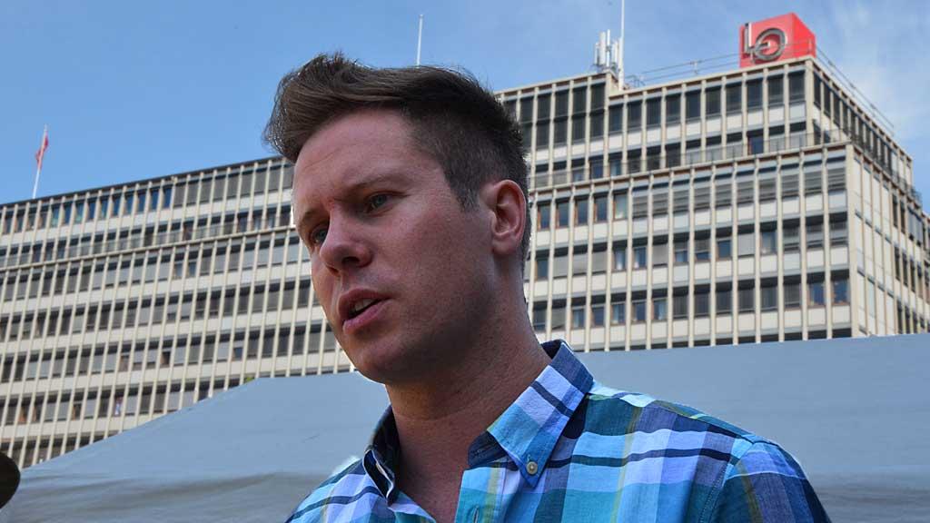 KLAMYDIA-ALARM: AUF og Eskil Pedersen vil teste elever under seksuell lavalder.  (Foto: Ingvil Teige Stiegler/ TV 2)