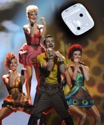 MOLDOVA: Nei, det er ikke danserne til Lady Gaga. (Foto: VANO SHLAMOV, ©vo/ski)