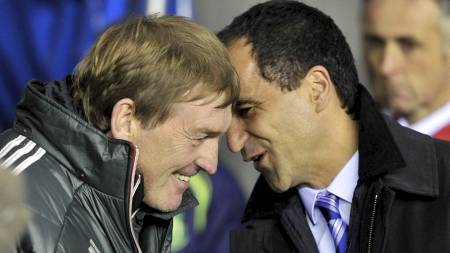 Wigan-manager Roberto Martinez kan bli Kenny Dalglish sin arvtaker på Anfield. (Foto: Martin Rickett/Pa Photos)