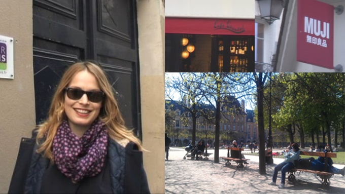 LOKALE TIPS: Caroline Breton er skuespiller og performanceartist bosatt i Marais. Hun viser sine favoritter fra bydelen i videoen under.