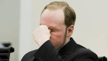 ENDRET FORKLARINGER: Anders Behring Breivik har endret væremåte og forklaringer flere ganger under avhørene. (Foto: Junge, Heiko/NTB scanpix)