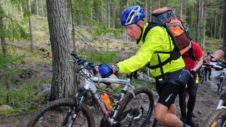 SYKKELEN REDDET HAN: Da Jan Erik Lund fikk MS-diagnosen så han for seg et liv i rullestol. Etter det har han syklet Birken - tre ganger!  (Foto: MS Bladet)