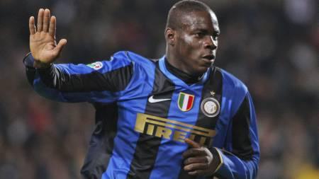 Som Inter-spiller ble Mario Balotelli utsatt for rasisme ved flere anledninger. (Foto: ALBERTO RAMELLA/AP)