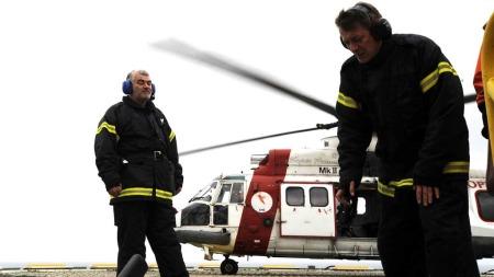 KAN VERTA RÅKA: Transporttenestene til og frå Nordsjøen kan og verta råka av ein eventuell streik.  (Foto: Scanpix)