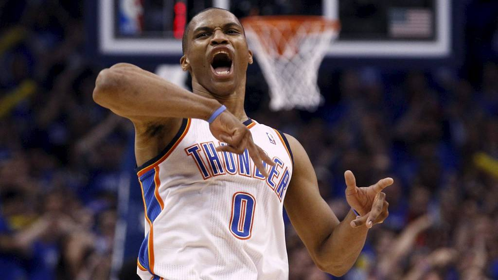 Russell Westbrook (Foto: JIM YOUNG/Reuters)