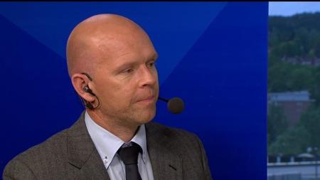 TV 2s fotballekspert Henning Berg. (Foto: TV 2.)