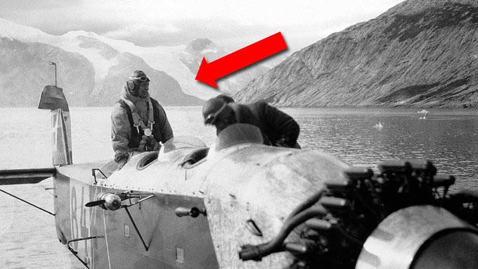 De unike bildene fra 1930-tallet avslører at breene på Grønland  smeltet like mye da som i dag. (Foto: Arktisk Institut i København)