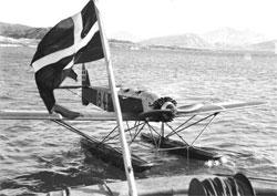 Norge og Danmarks sloss om Grønland. (Foto: Arktisk Institut   i København)