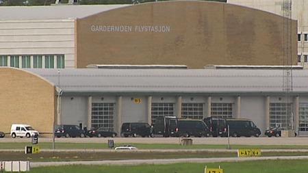 gardermoen flystasjon (Foto: TV 2)