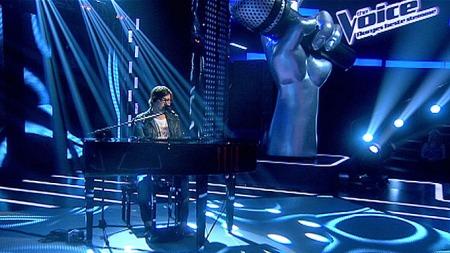 VINNER: 24-åringen Martin Halle fra Aurskog stakk av med seieren i finalen i The Voice som ble sendt på TV 2 i vår. (Foto: TV 2)