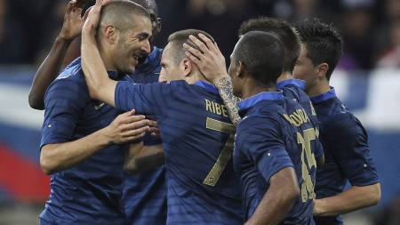 France's forward Franck Ribery (Foto: David Vincent/Ap)