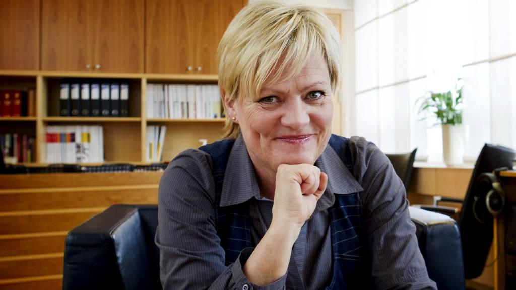 VIL ØKE AMBISJONEN: Kunnskapsminister Kristin Halvorsen (SV) vil ha 2000 nye studentboliger i året.  (Foto: Aas, Erlend/NTB scanpix)