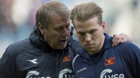 Spissen Henri Anier er en av mange spillere Viking og manager   Åge Hareide har hentet til Stavanger. (Foto: Ellingsen, Tommy/NTB scanpix)