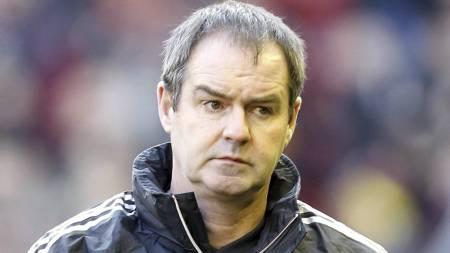 Brendan Rodgers hadde ikke plass til Steve Clarke i sitt trenerteam på Anfield. Nå tar den tidligere Chelsea-treneren over managerjobben i West Bromwich. (Foto: Peter Byrne/Pa Photos)