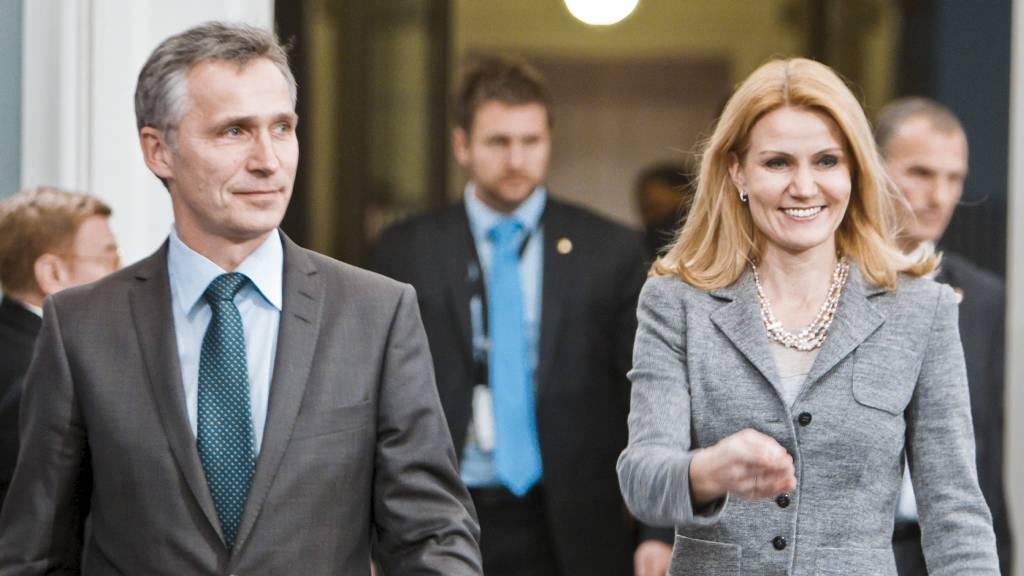 MINNER OFRENE: Jens Stoltenberg og Danmarks statsminister Helle Throning-Schmidt er blant de som taler under markeringen av ettårsdagen for 22. juli. (Foto: Krister Sørbø/NTB scanpix)