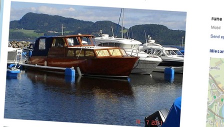 Du kan faktisk få en 34 fots båt for rundt 100.000 kroner også.
