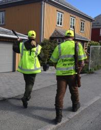 Viltpatruljen i Trondheim (Foto: Tor Aage Hansen)