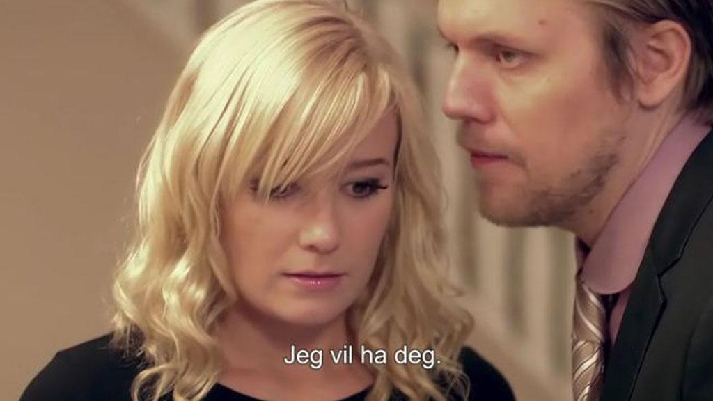 ELSAS VÄRLD: Elsa møter igjen Gustav på middag hos svigermor.