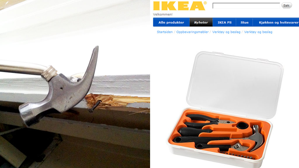 ikea-hammer (Foto: Leserfoto/Faksimile IKEA)