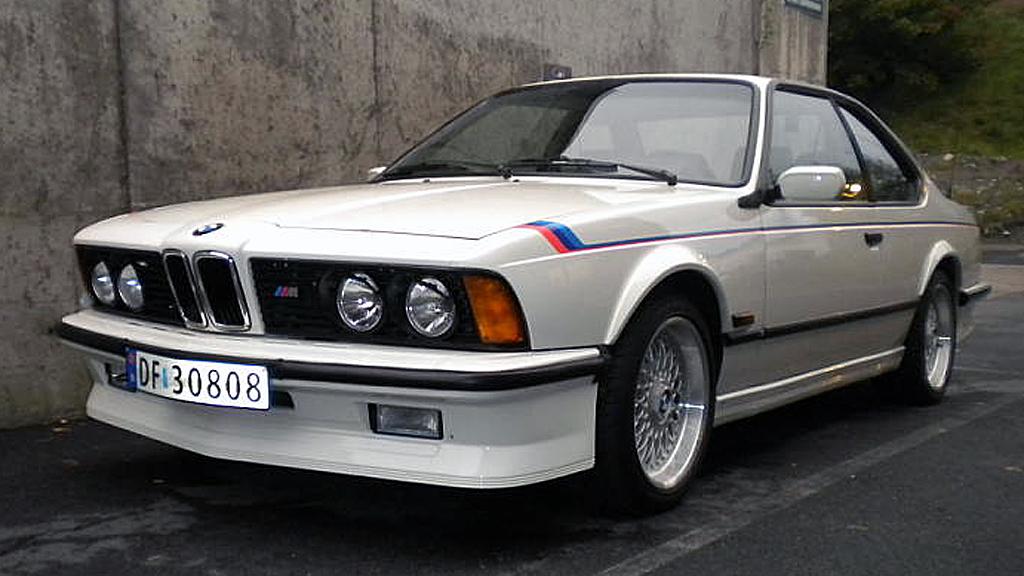 BMWs E24-modell, hvilket i praksis vil si 6-seriecoupeen mellom 1976 og 1989, regnes av mange som et høydepunkt i moderne bildesign. Nå begynner selv den sjeldne toppmodellen M635 CSi å bli overkommelig for folk flest. Faksimile: Finn.no