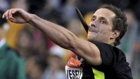 Czech Republic's Vitezslav Vesely (Foto: DAVID W CERNY/Reuters)
