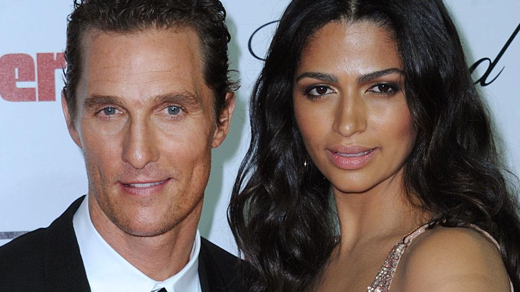 Matthew McConaughey og kona Camilla fikk barn helt på tampen av året.