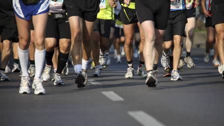 MARATONDEBUT: TV 2-reporter Hilde Gran fikk en tøff opplevelse da hun kastet seg ut i sin første maraton. (Foto: Illustrasjonsfoto/Colourbox/)