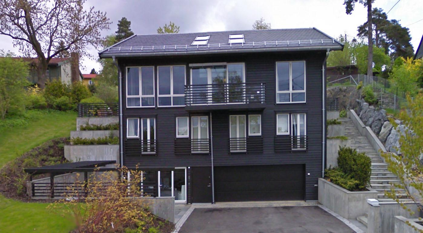 Edvald Boasson Hagen skal ha kjøpt dette huset i Nypeveien i Oslo for 17,3 millioner kroner. (Foto: GOOGLE STREET VIEW)