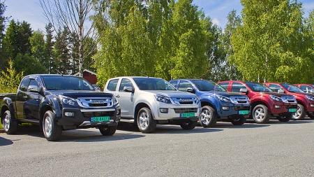 800 biler skal selges i Norge allerede i år, og importøren har allerede bestilt og fått på plass 300 biler for å ha noe å tilby de som vil ha ny bil raskt. (Foto: RSA)